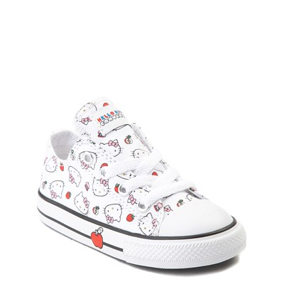 Alternate view of Converse Chuck Taylor All Star Lo Hello Kitty® Sneaker - Baby / Toddler