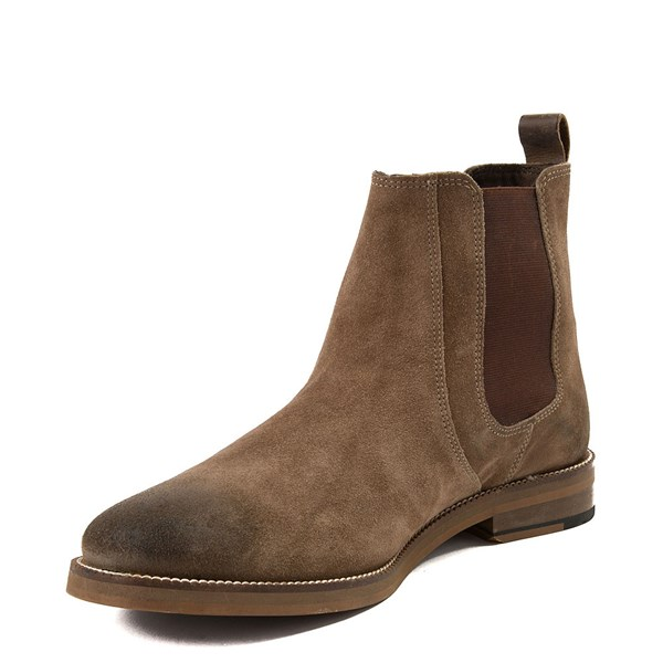 alternate view Mens Crevo Denham Chelsea Boot - BrownALT3