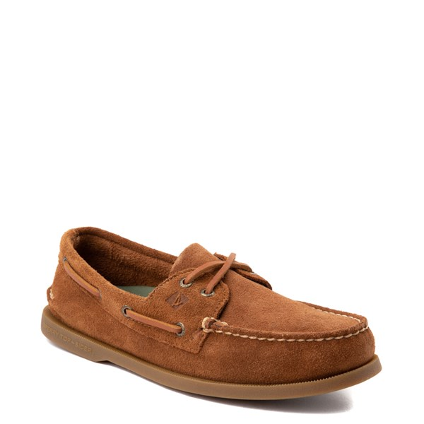 Alternate view of Mens Sperry Top-Sider Authentic Original Suede Boat Shoe