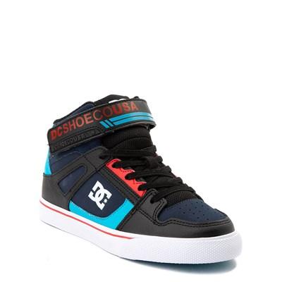 Alternate view of DC Pure Hi EV Skate Shoe - Little Kid / Big Kid