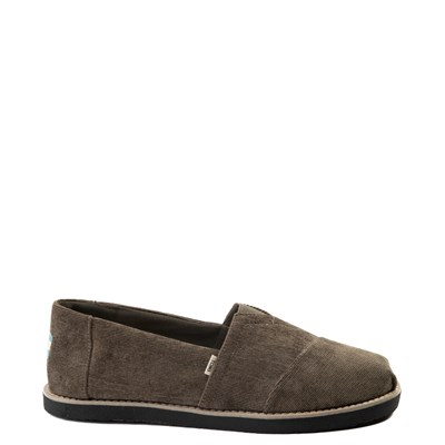 Main view of Mens TOMS Classic Crepe Slip-On Casual Shoe - Olive