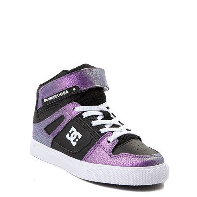 Alternate view of Youth/Tween DC Pure Hi SE EV Skate Shoe