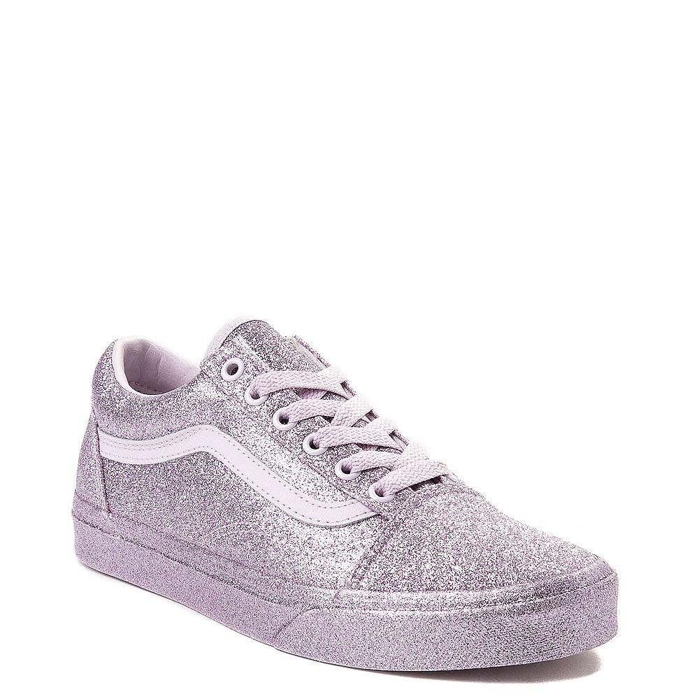 23e62173970827 Vans Old Skool Glitter Skate Shoe