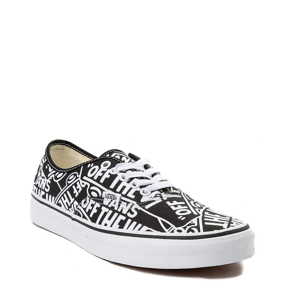 2d4f83612d Vans Authentic Off The Wall Skate Shoe