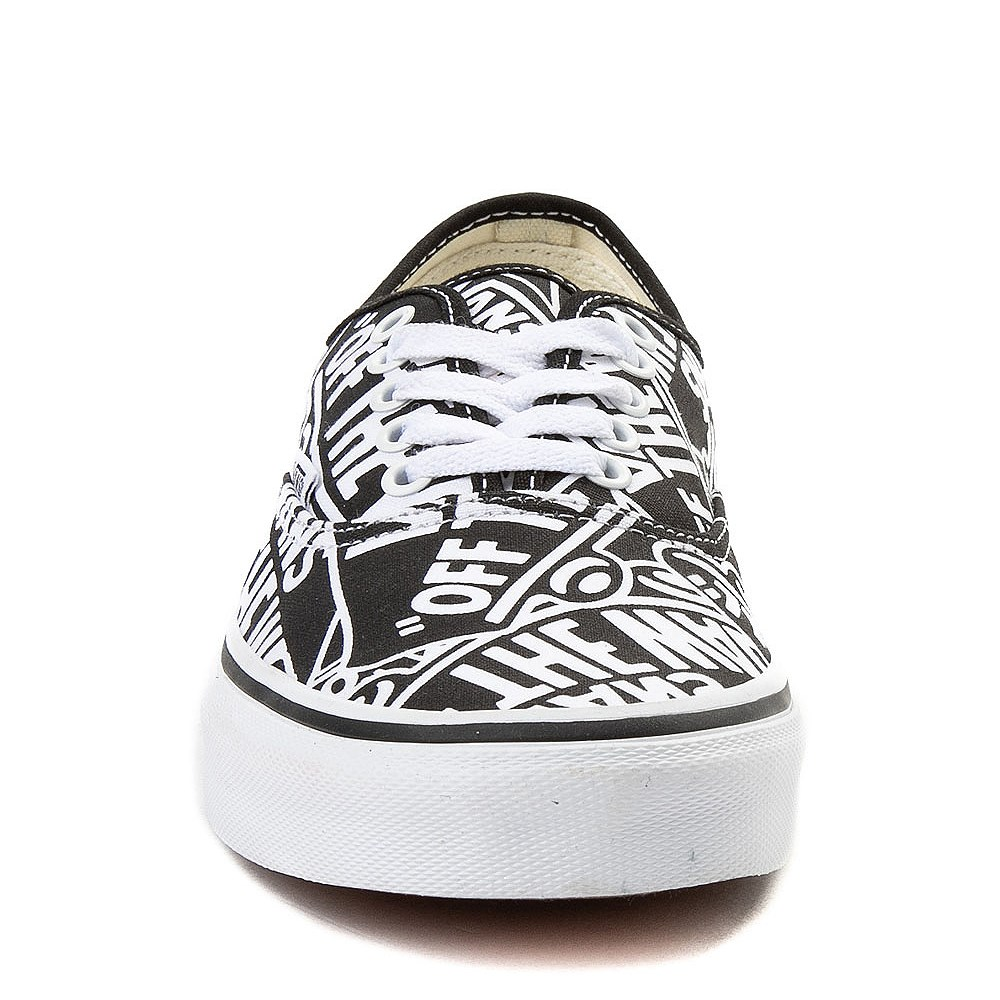 f96d2918717 Vans Authentic Off The Wall Skate Shoe
