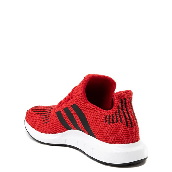 alternate view adidas Swift Run Athletic Shoe - Big Kid - ScarletALT2