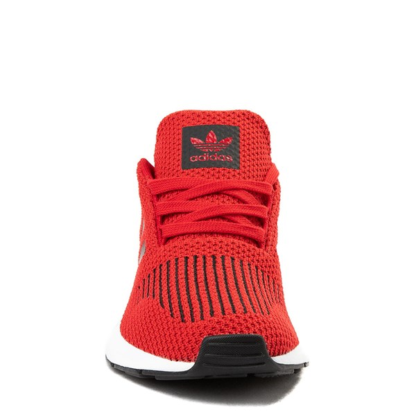 alternate view adidas Swift Run Athletic Shoe - Big Kid - ScarletALT4