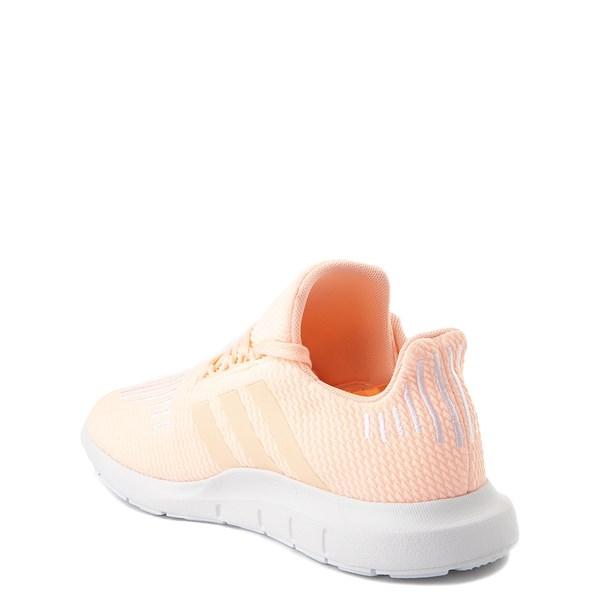 alternate view adidas Swift Run Athletic Shoe - Little KidALT2