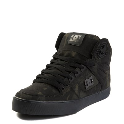 Alternate view of Mens DC Pure Hi TX SE Skate Shoe