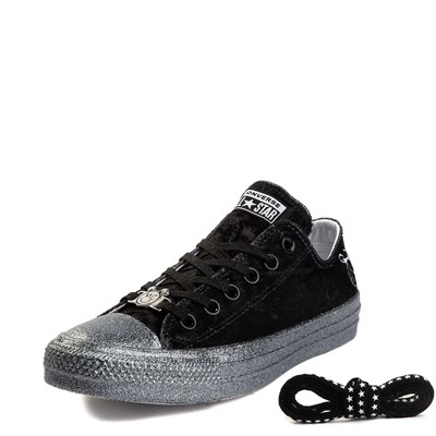 Alternate view of Womens Converse x Miley Cyrus Chuck Taylor All Star Lo Velvet Sneaker