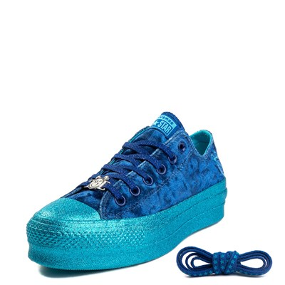 Alternate view of Womens Converse x Miley Cyrus Chuck Taylor All Star Lo Velvet Platform Sneaker