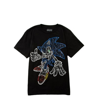 Main view of Boys Youth Sonic The Hedgehog™ Glow In The Dark Tee