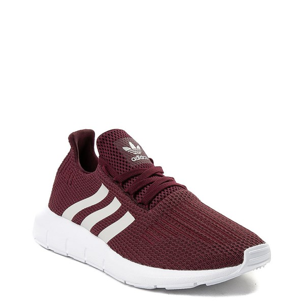 alternate view Womens adidas Swift Run Athletic Shoe - BurgundyALT1