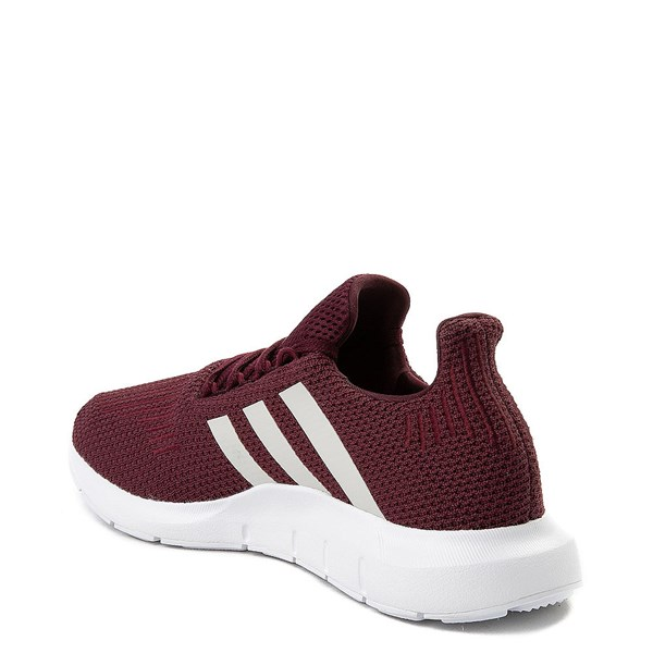 alternate view Womens adidas Swift Run Athletic Shoe - BurgundyALT2