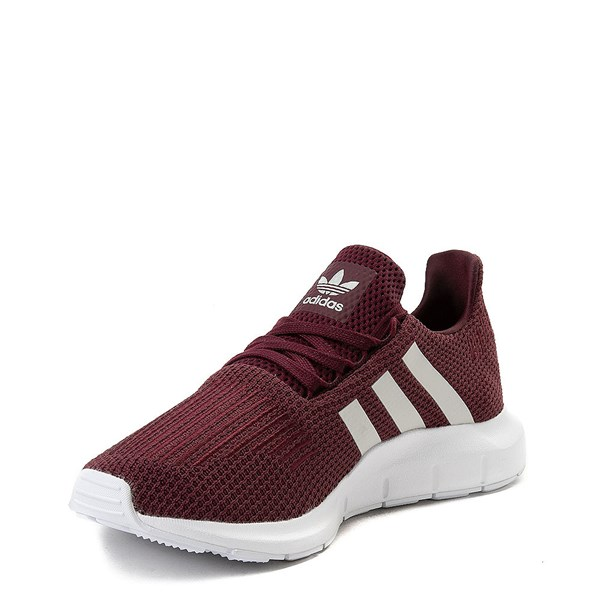 alternate view Womens adidas Swift Run Athletic Shoe - BurgundyALT3