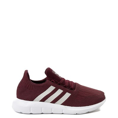 Main view of Womens adidas Swift Run Athletic Shoe - Burgundy