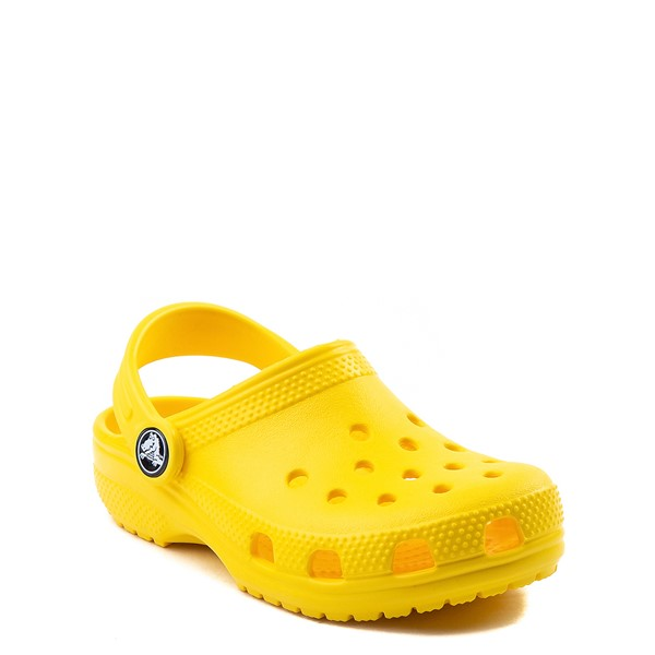 alternate view Crocs Classic Clog - Baby / Toddler / Little Kid - YellowALT1