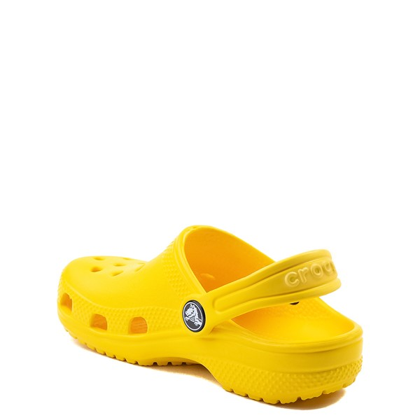 alternate view Crocs Classic Clog - Baby / Toddler / Little Kid - YellowALT2