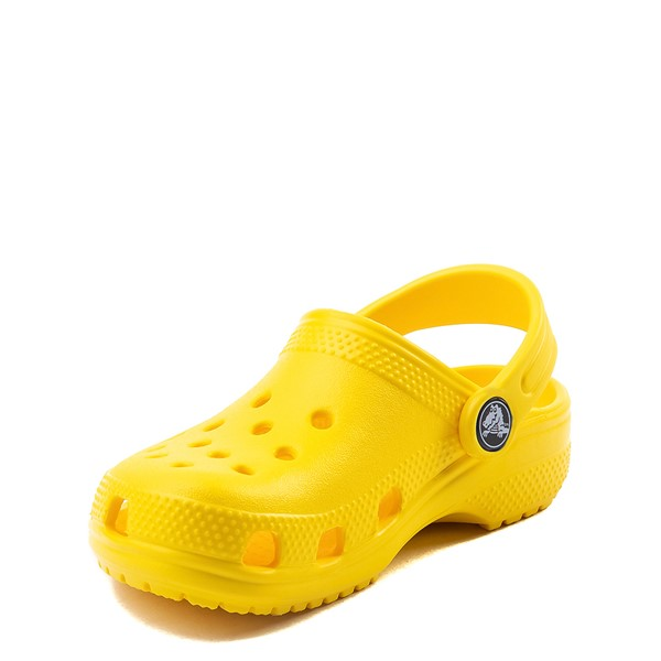 alternate view Crocs Classic Clog - Baby / Toddler / Little Kid - YellowALT3