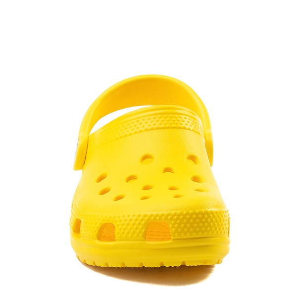 alternate view Crocs Classic Clog - Baby / Toddler / Little Kid - YellowALT4