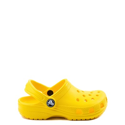 Main view of Crocs Classic Clog - Baby / Toddler / Little Kid - Yellow