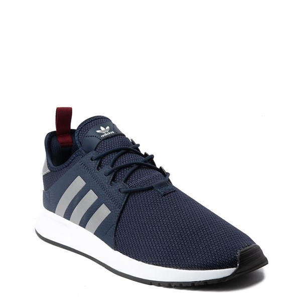 alternate view Mens adidas X_PLR Athletic Shoe - Navy / Silver / WhiteALT1