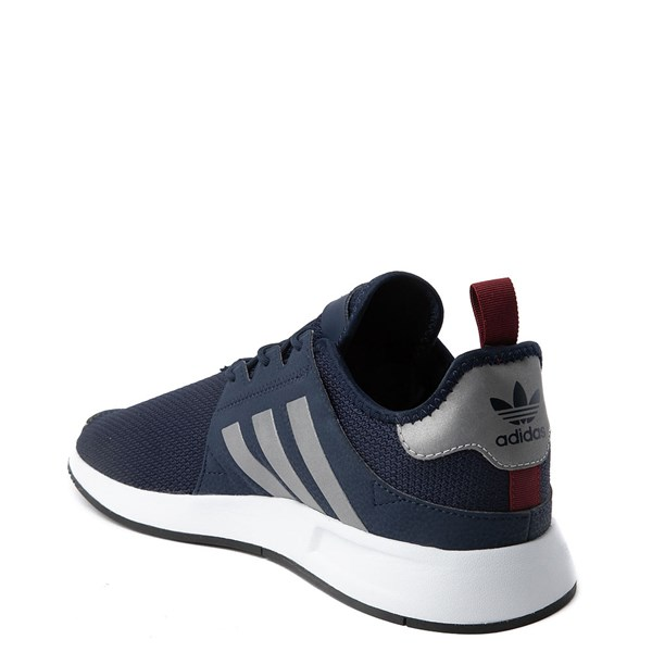 alternate view Mens adidas X_PLR Athletic Shoe - Navy / Silver / WhiteALT2