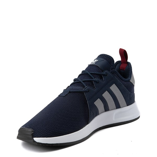 alternate view Mens adidas X_PLR Athletic Shoe - Navy / Silver / WhiteALT3