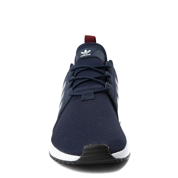 alternate view Mens adidas X_PLR Athletic Shoe - Navy / Silver / WhiteALT4