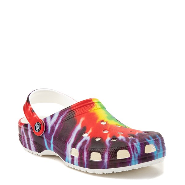 alternate view Crocs Tie Dye Classic Clog - MultiALT1
