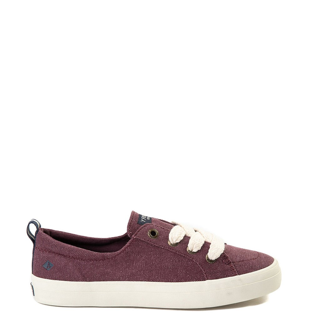 Womens Sperry Top-Sider Crest Vibe Chubby Lace Casual Shoe