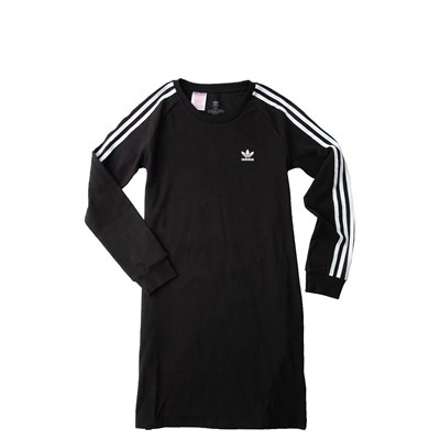 Main view of adidas 3-Stripes Dress - Girls Little Kid