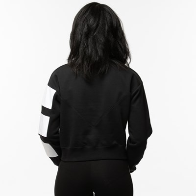 Alternate view of Womens adidas 3-Stripes Cropped Sweater