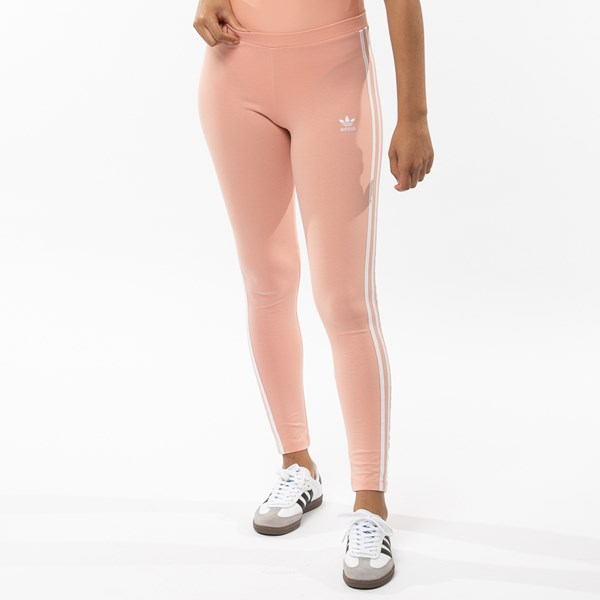 Alternate view of Womens adidas 3-Stripes Leggings