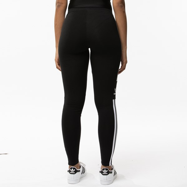 alternate view Womens adidas 3-Stripes LeggingsALT2