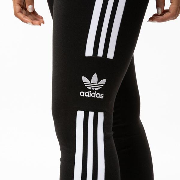 alternate view Womens adidas 3-Stripes LeggingsALT4
