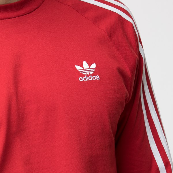 alternate view Mens adidas 3-Stripes Long Sleeve TeeALT4