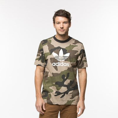 Main view of Mens adidas Trefoil Tee