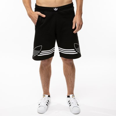 Main view of Mens adidas Outline Fleece Shorts