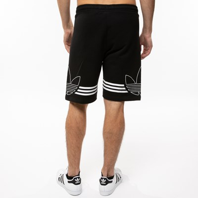 Alternate view of Mens adidas Outline Fleece Shorts