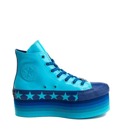Alternate view of Womens Converse x Miley Cyrus Chuck Taylor All Star Hi Patent Platform Sneaker
