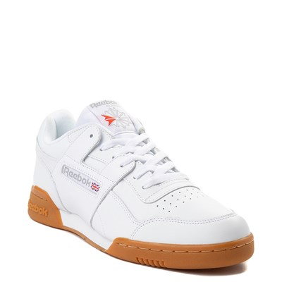 Alternate view of Mens Reebok Workout Plus Athletic Shoe - White