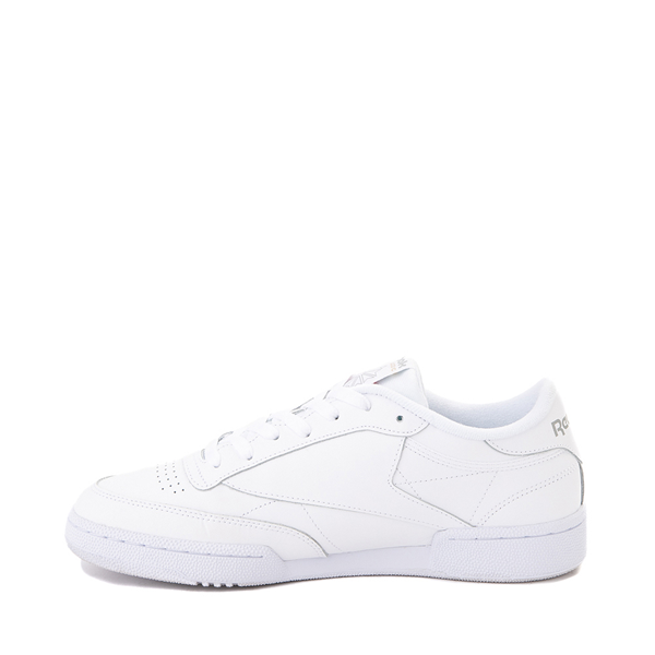 alternate view Mens Reebok Club C 85 Athletic Shoe - White / Light GrayALT1