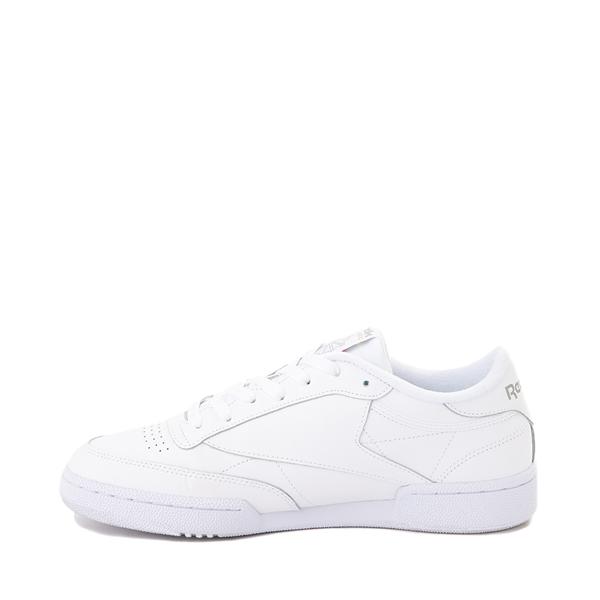 alternate view Mens Reebok Club C 85 Athletic Shoe - White / Light GrayALT1