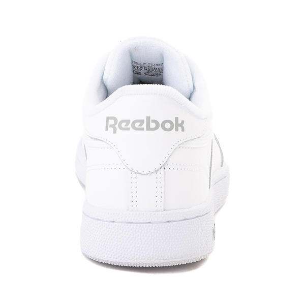 alternate view Mens Reebok Club C 85 Athletic Shoe - White / Light GrayALT4