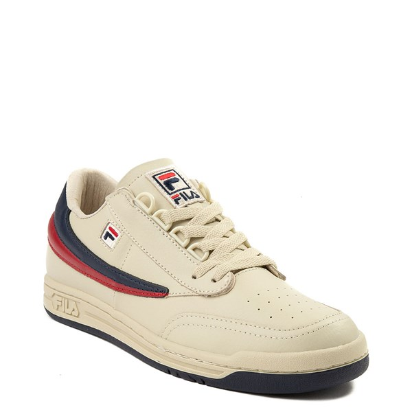 alternate view Mens Fila Original Tennis Athletic Shoe - CreamALT1