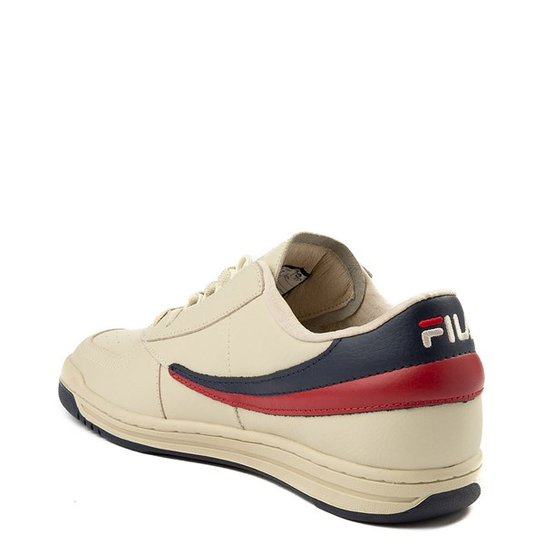 alternate view Mens Fila Original Tennis Athletic Shoe - CreamALT2