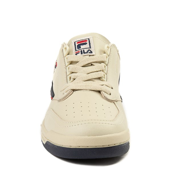 alternate view Mens Fila Original Tennis Athletic Shoe - CreamALT4
