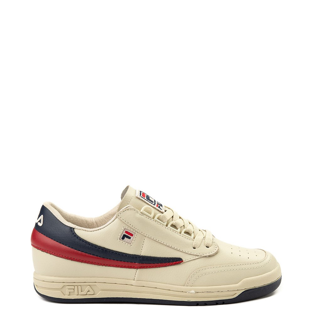 Mens Fila Original Tennis Athletic Shoe - Cream