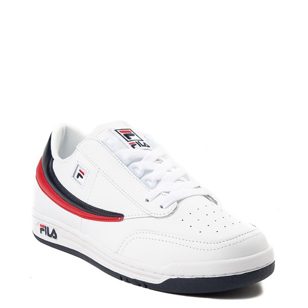 alternate view Mens Fila Original Tennis Athletic Shoe - WhiteALT1